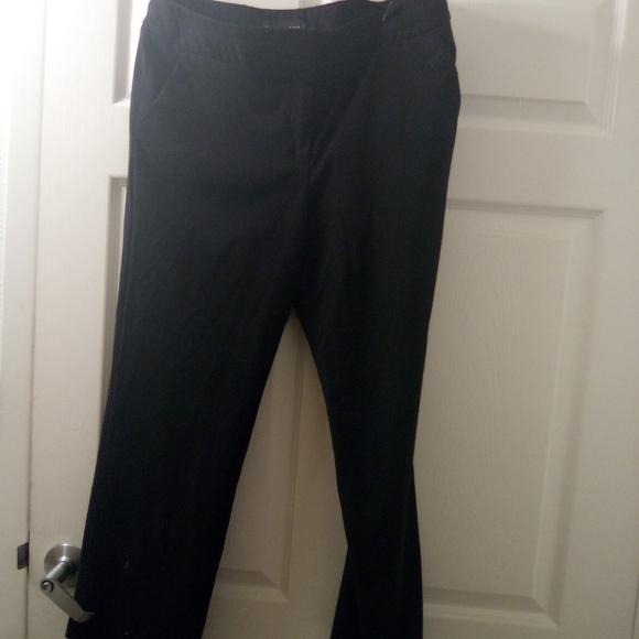Sharagano Pants - Ladies Black Pants 14P